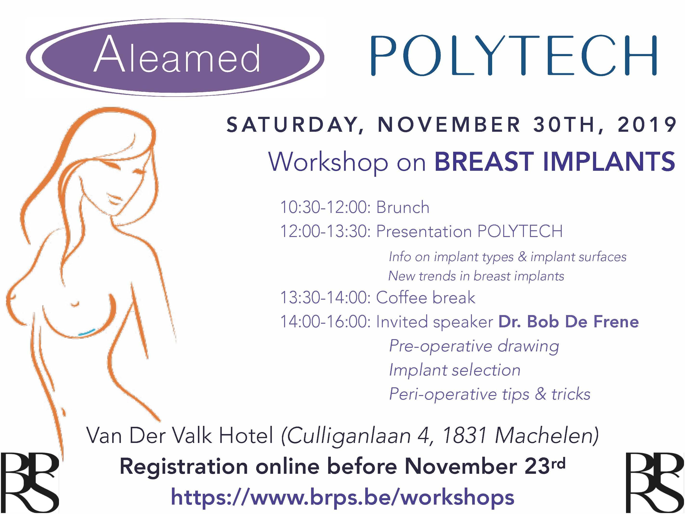Workshop breast implants